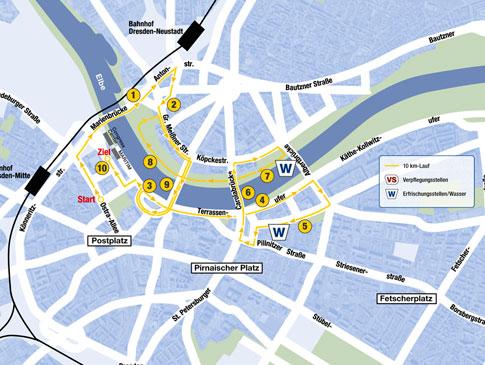 AOK 10 Km Lauf Dresden