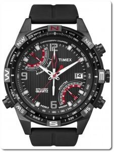 Timex IQ Fly-Back Chronograph T2N865 Silikon Herren-Armbanduhr