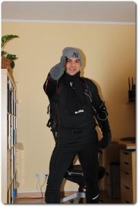 Vor dem Freitagstags Workout im Winter