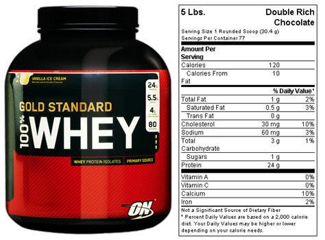 Optimum Nutrition 100 Prozent Whey Protein Gold Standard