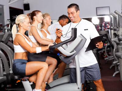 Personal Training mit einem Personal Trainer