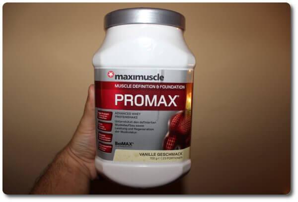 maximusclePROMAX Vanille Geschmack
