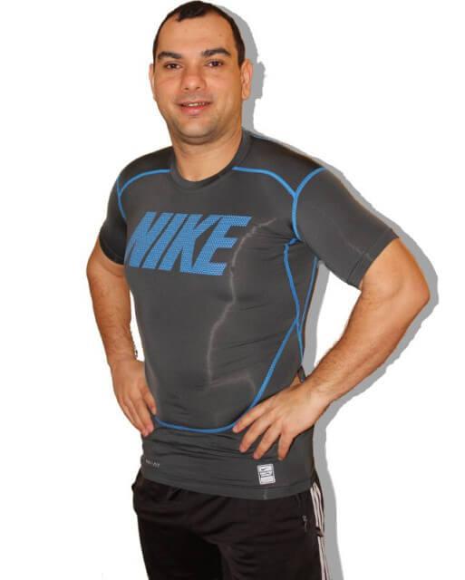 Nike Performance NPC Core Compression Funktionsshirt