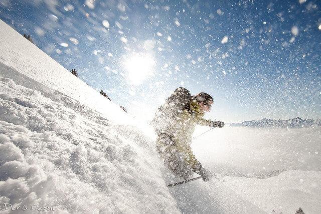 Aufwärmübungen vor dem Wintersport