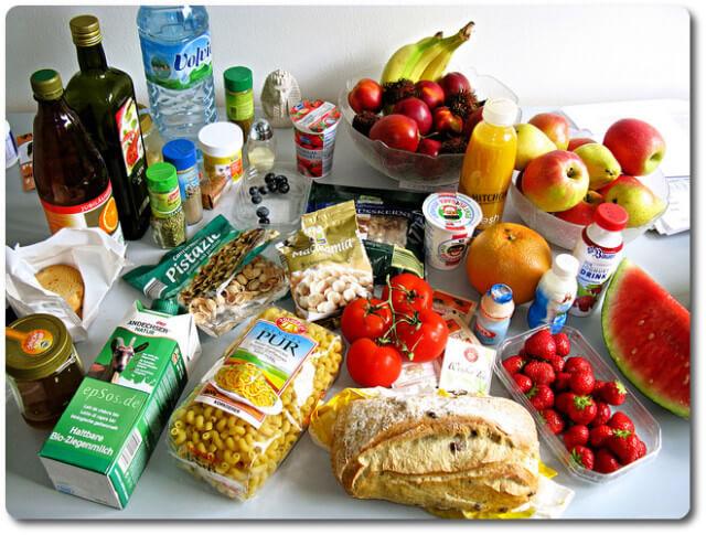 Lebensmittel Diäten
