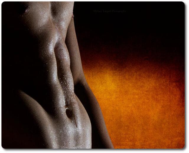 Ein perfekter Bauch