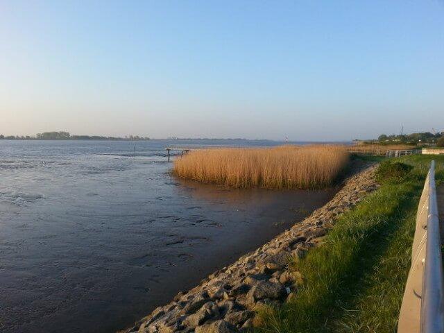 Ebbe an der Weser