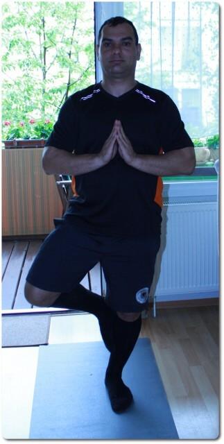 Die Baum Yoga-Übung