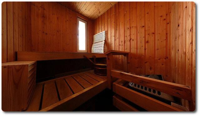 Eine Finnische Sauna