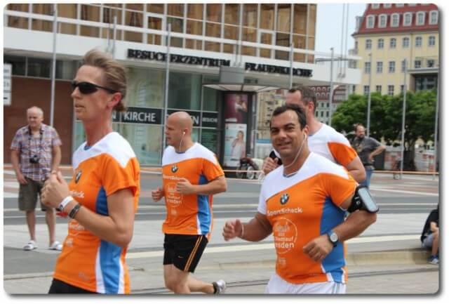 Sportscheck Halbmarathon Dresden 2013