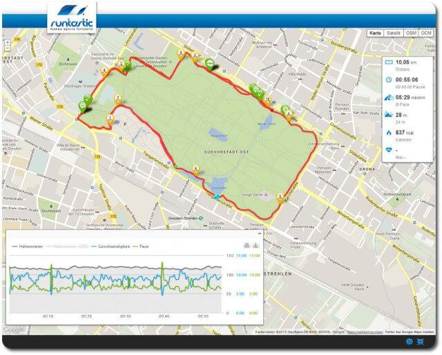 10 km GA 2 87 Prozent hf max