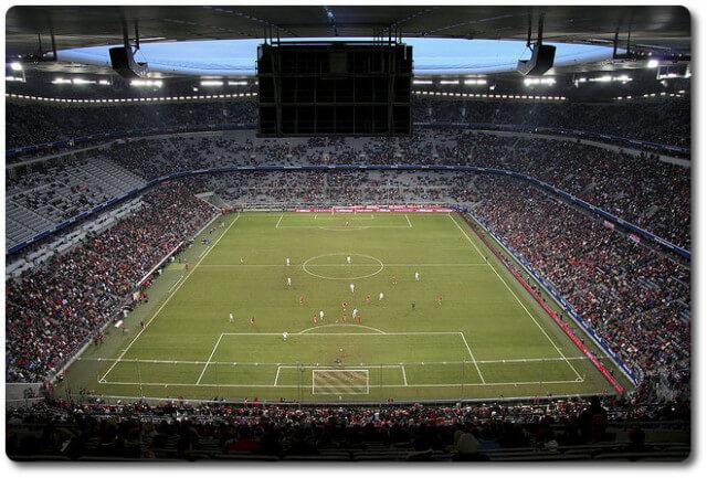 Allianz Arena Spielfeld