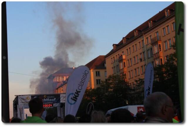Startschuss Nachtlauf Dresden