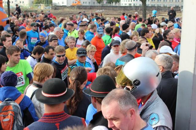 Ein Astronaut als Marathoni