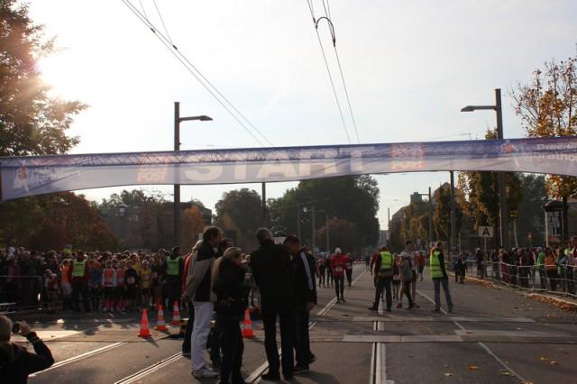Der Dresden Marathon Start