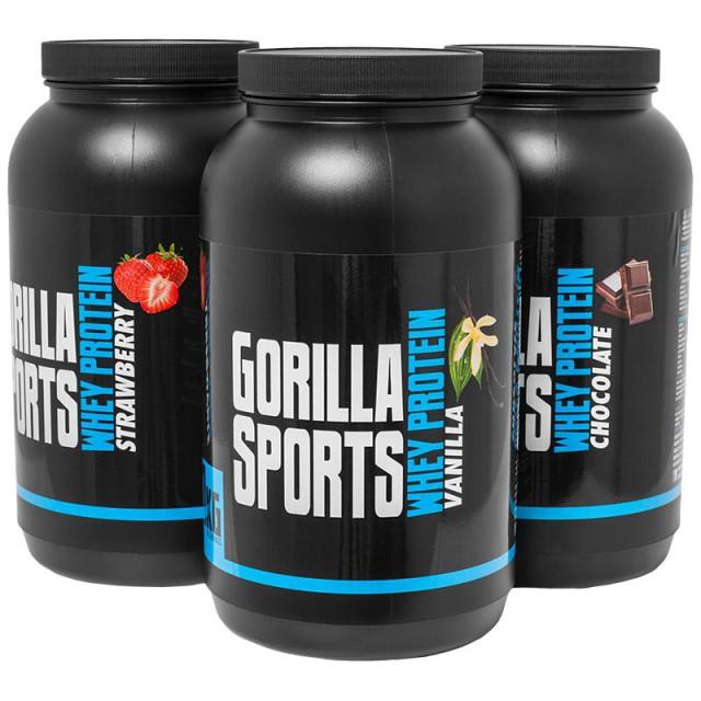 Gorilla Sports 1 KG Whey Protein