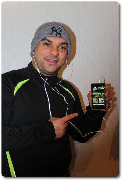 Mein 1. Lauftraining mit adidas miCoach und dem NOKIA Lumia 925