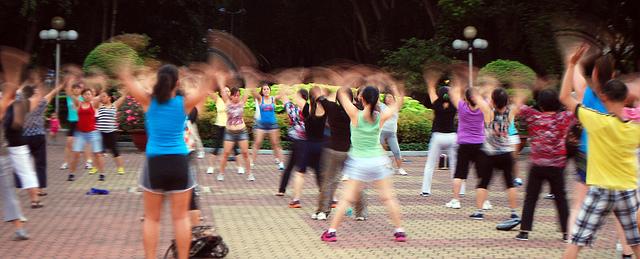 Bewegung fördert die Gesundheit