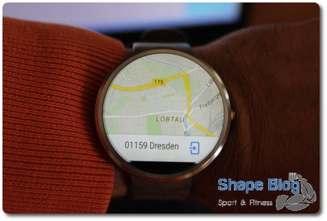 Navigation & Orientierung mit der Moto 360