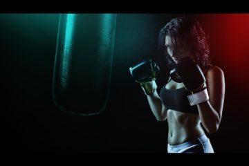 Boxsack Girl
