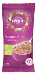 Bioprodukte bei dm: Davert QuinoaCup Tomate-Kraeuter
