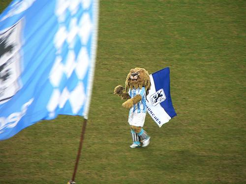 Löwe des TSV 1860 München