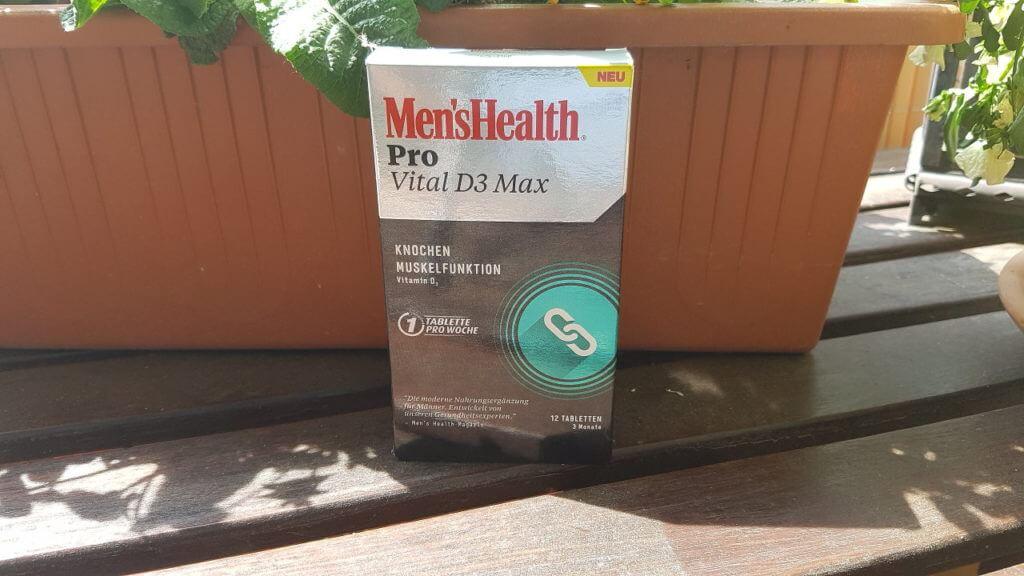 Men's Health PRO Vital D3 Max