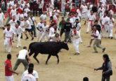 Pamplona Stierlauf 2017