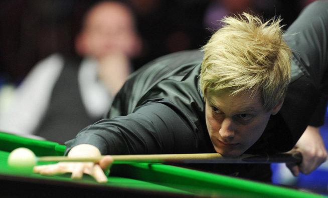 Snooker-Profi Neil Robertson