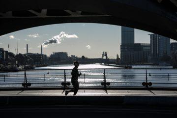 Joggen trotz Notbremse