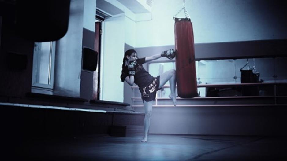 Kickboxerin