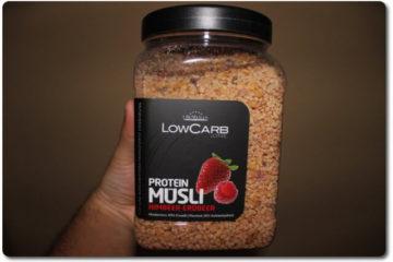 Layenberger Protein Müsli Himbeer-Erdbeer